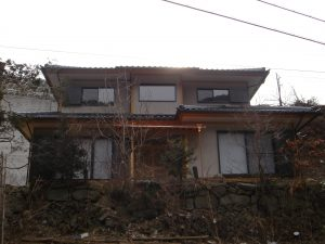 和風作りの趣のある家