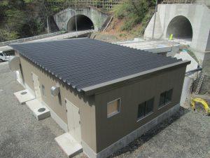 松姫トンネル電気機械棟建設工事