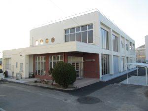 加納岩公民館大規模改修建築主体工事